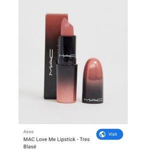 MAC Love Me Lipstick in Très Blasé